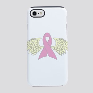 Angel Wings Cancer Ribbon iPhone 8/7 Tough Case