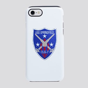 USS SPRINGFIELD iPhone 8/7 Tough Case