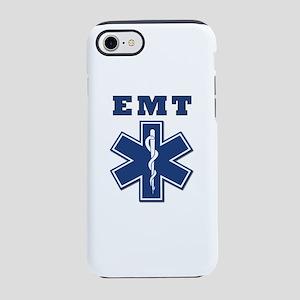 EMT Blue Star Of Life* iPhone 8/7 Tough Case