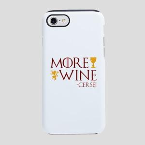 More Wine iPhone 7 Tough Case