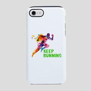 Keep Running iPhone 8/7 Tough Case