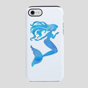 Watercolor Mermaid iPhone 7 Tough Case