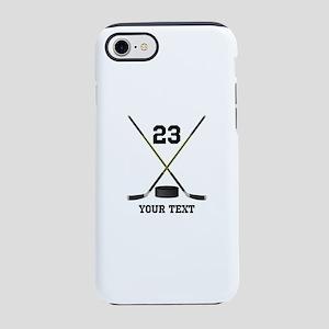 Ice Hockey Personalized iPhone 8/7 Tough Case