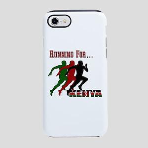 Kenya Running iPhone 7 Tough Case