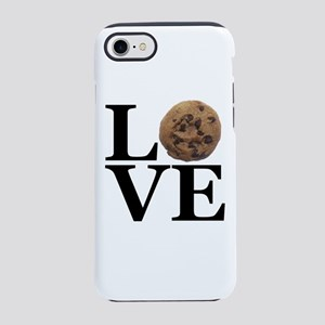 LOVE Chocolate Chip Cookie iPhone 8/7 Tough Case