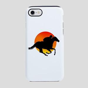 Horse Racing iPhone 8/7 Tough Case
