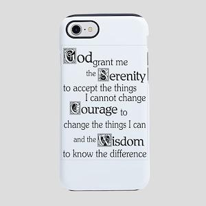 Serenity Prayer 7 Iphone 8/7 Tough Case