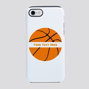 Basketball Personalized iPhone 8/7 Tough Case