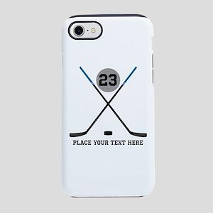 Ice Hockey Personalized iPhone 7 Tough Case