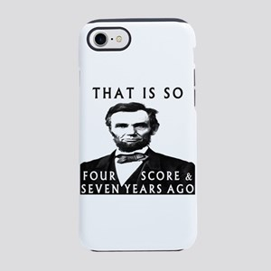 Abe Lincoln iPhone 8/7 Tough Case