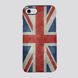 Vintage Union Jack flag iPhone 7 Tough Case