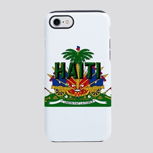 Haitian Coat of Arms iPhone 7 Tough Case