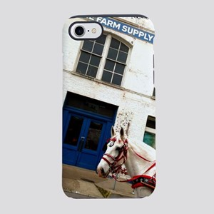 Horse Waiting for Acme to Open iPhone 7 Tough Case