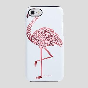 Funky Tribal Flamingo iPhone 8/7 Tough Case