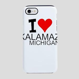 I Love Kalamazoo, Michigan iPhone 8/7 Tough Case