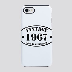 Vintage Aged to Perfection 1 iPhone 8/7 Tough Case