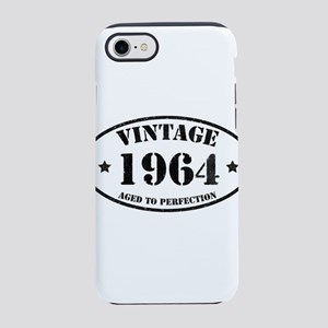 Vintage Aged to Perfection 5 iPhone 8/7 Tough Case