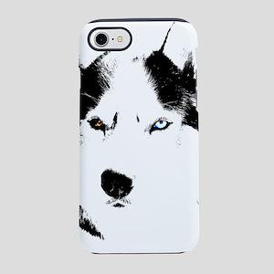 Husky Bi-Eye Husky Malamute iPhone 8/7 Tough Case