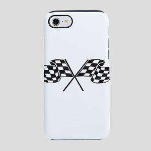 Checkered Flag, Race, Racing iPhone 8/7 Tough Case