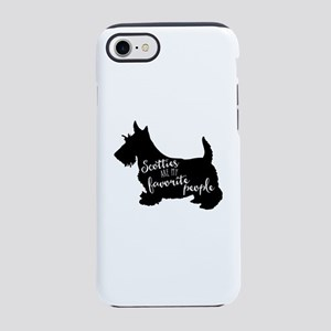 Scotties are my favorite peo iPhone 8/7 Tough Case