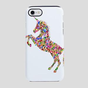Prismatic Rainbow Unicorn iPhone 7 Tough Case