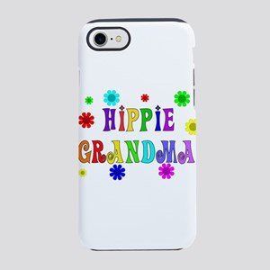 Hippie Grandma iPhone 8/7 Tough Case