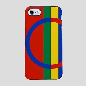 Scandinavia Sami Flag iPhone 8/7 Tough Case