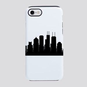 chicago skyline iPhone 8/7 Tough Case