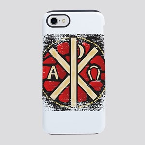 Alpha Omega Stained Glass iPhone 8/7 Tough Case