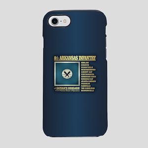 8th Arkansas Infantry (BH2) iPhone 7 Tough Case
