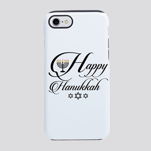 Happy Hanukkah- Jewish holid iPhone 8/7 Tough Case