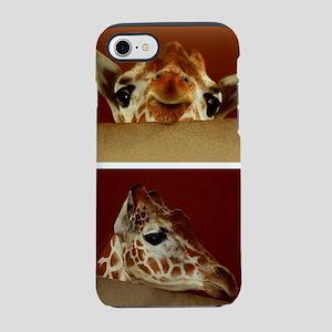 Giraffe Collage iPhone 8/7 Tough Case