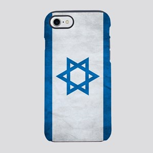 Grunge Flag Of Israel iPhone 7 Tough Case