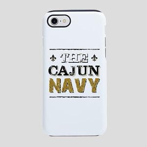 the Cajun Navy blck and gold iPhone 8/7 Tough Case