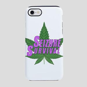 Seizure Survival with Cannabis iPhone 8/7 Tough Ca