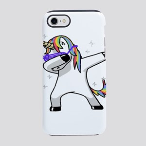 unicorn dabbing iPhone 8/7 Tough Case