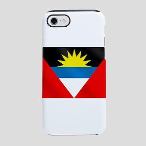 Antigua and Barbuda Flag iPhone 7 Tough Case