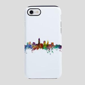 Cleveland Ohio Skyline iPhone 8/7 Tough Case