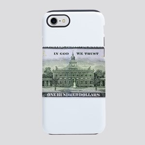 US Currency One Hundred Doll iPhone 8/7 Tough Case