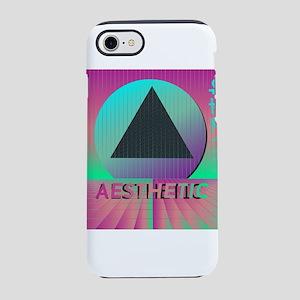 Vaporwave Aesthetic iPhone 8/7 Tough Case