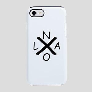 Hurrican Katrina X NOLA blac iPhone 8/7 Tough Case