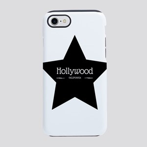 Hollywood California Black S iPhone 8/7 Tough Case