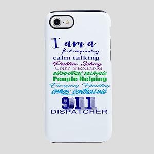 911 DISPATCHER iPhone 7 Tough Case