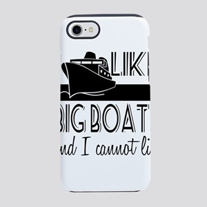 I Like Big Boats iPhone 8/7 Tough Case