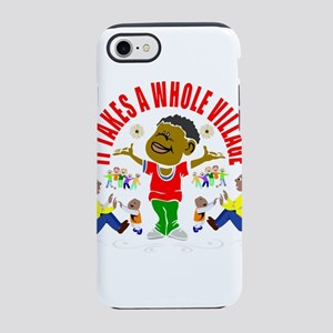 African American kids iPhone 8/7 Tough Case