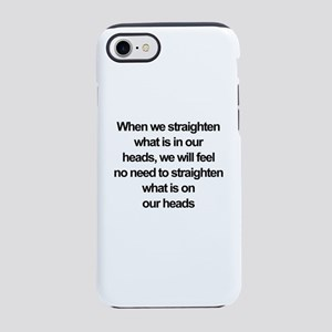 African American quote iPhone 8/7 Tough Case