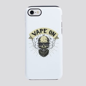 Cloud Chaser - Vaping Bearde iPhone 8/7 Tough Case