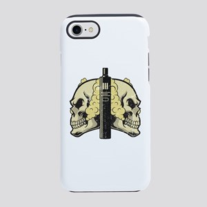 Cloud Chaser - Vaping Skull iPhone 8/7 Tough Case