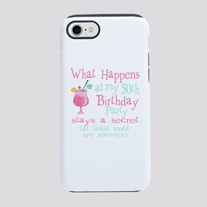 Fun 50th Birthday Party iPhone 8/7 Tough Case