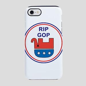 Rest in Peace, G O P, iPhone 7 Tough Case